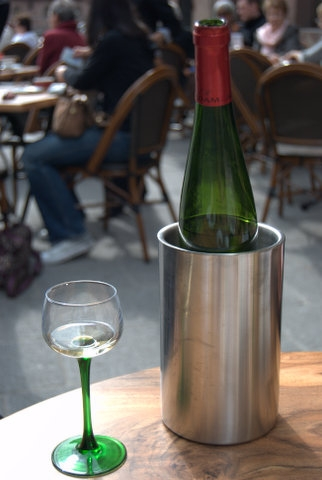wine bottle Alsace Paris By The Glass