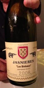 Jasnieres white Loire wine
