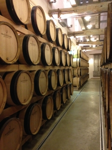 Barrel ageing at Billecart-Salmon
