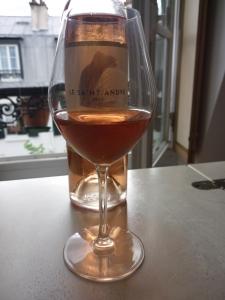 """La cuvée """"Signature"""" AOC Côtes de Provence de Saint André de Figuière, one of my favorite summer drinks"""