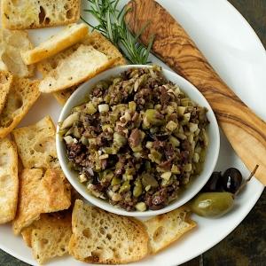 Tapenade, a provencal olive spread