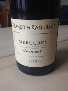 Mercurey Domaine François Raquillet