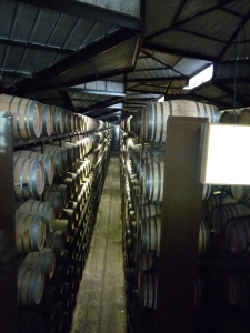 The bodegas at Gonzalez Byass, home of Tio Pepe Fino